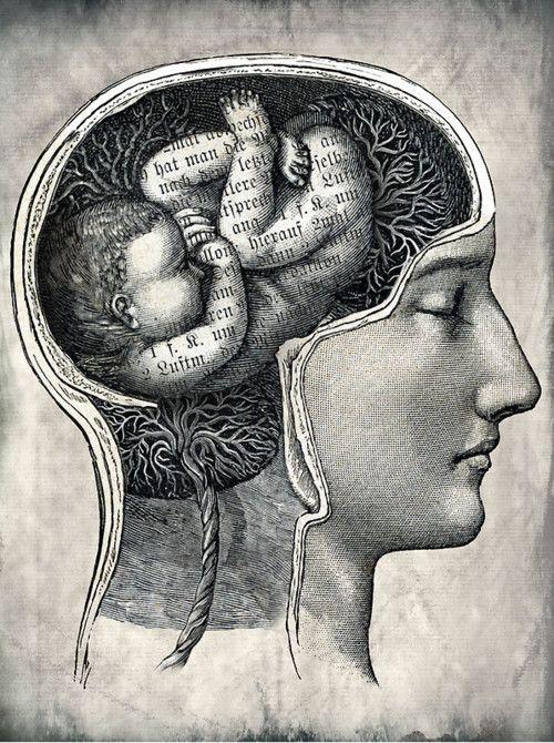 (((*))): Catrin Welz Stein, The Artists, Unborn Ideas, Brain Art, Digital Art, Graphics Design, The Brain, Births, Catrin Welzstein