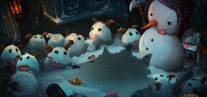 League of Legends Snowman wallpaper