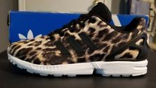 Adidas ZX Flux K Leopard Animal Print youth size  7 Trainers B25642