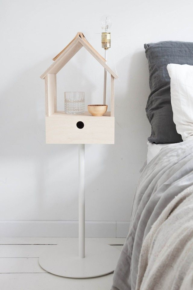 Put a little Birdhouse in my...bedroom  (click on picture for more details on where to buy).