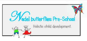 Nadel Butterflies Pre-School  Pre-School. Ages 3 months to 5 years. half day and full day. Small classes, only 6 babies. Individual attention, homely atmosphere,cirriculum based. CCTC cameras for parents. Extra mural activities include rugga, maths, playball, music kidz. After school care till grade 2. Full day include cooked breakfast, cooked lunch and snack. Variable price packages