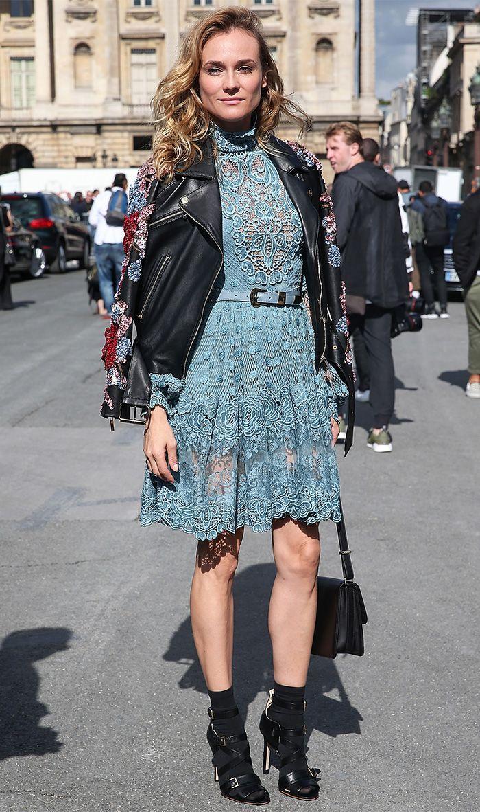 3 Non-Aging Pieces Diane Kruger Always Wears via @WhoWhatWear