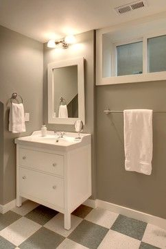 Capitol Hill Craftsman craftsman-bathroom; IKEA hemnes vanity