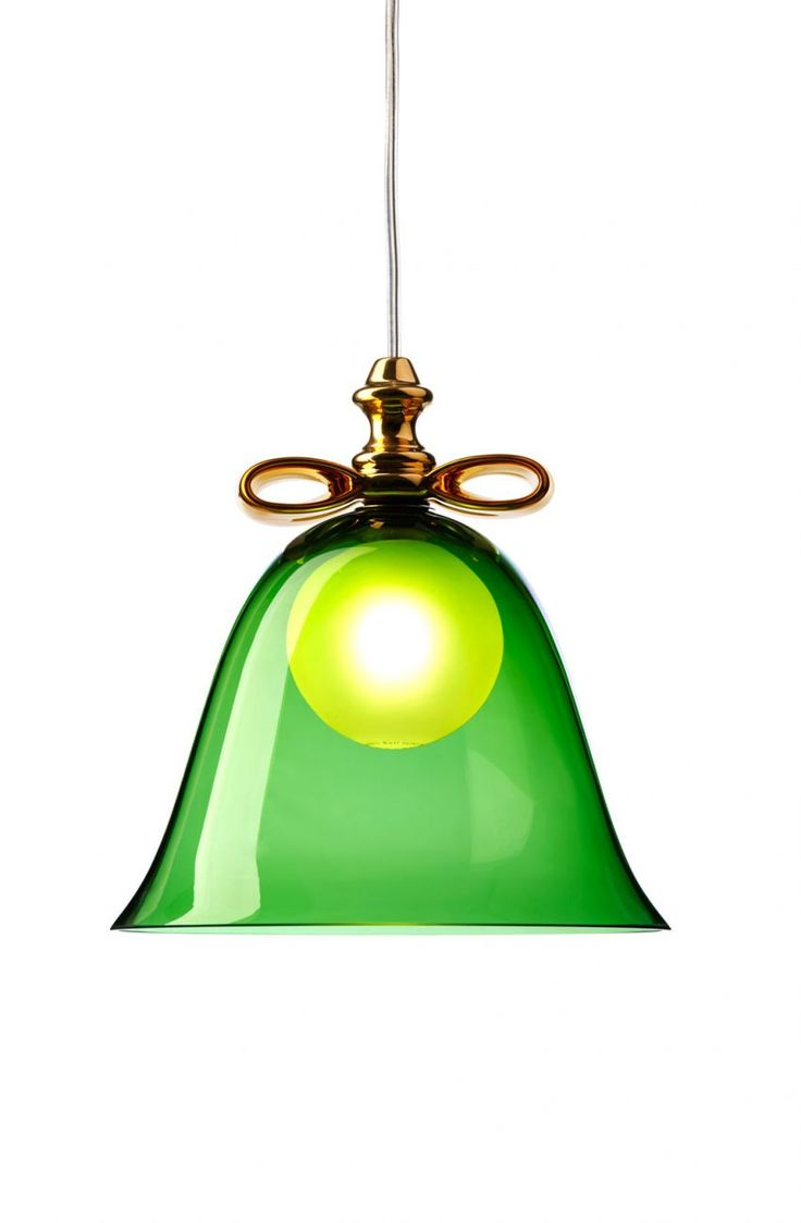 Amazing Bell Lamp Green Gold By Marcel Wanders