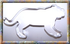 Panther cookie cutter