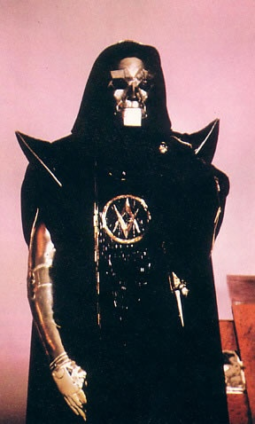 """Klytus - Flash Gordon - this villain was definitely not as indestructible as Darth Vader BUT he had the best """"melting"""" demise in a movie since the Wicked Witch in the Wizard of Oz - LOL"""