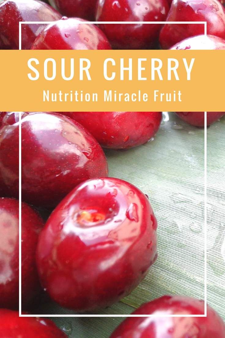 Sour cherries owe all of their latest popularity and allure to what researchers have found to be sour cherry health benefits. Let's face it; unlike sweet cherries which are great to the taste, this fruit are very difficult to enjoy as is. You would have to have a really strong affinity for sourness in order to enjoy this fruit as a snack.