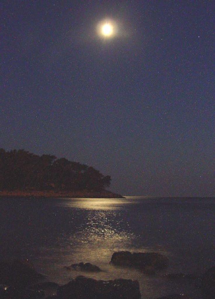 Prizba Coast At Night Korcula Croatia Hikenow