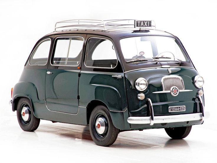 Fiat 600 Multipla (1956/Italy)