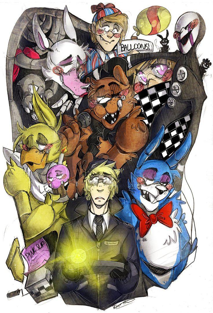 Five Nights At Freddys 2 by BlasticHeart on DeviantArt