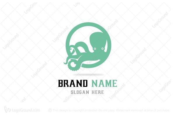 Logo for sale: Octopus Logo