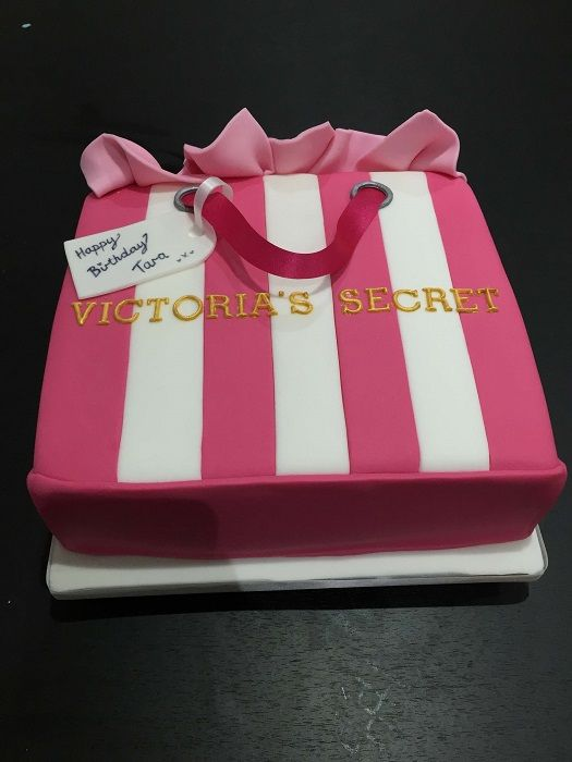 Victoria Secret Birthday Cake