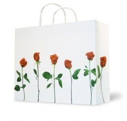 A Dozen Roses #Retail #Carrier #Bags #Valentines #Day