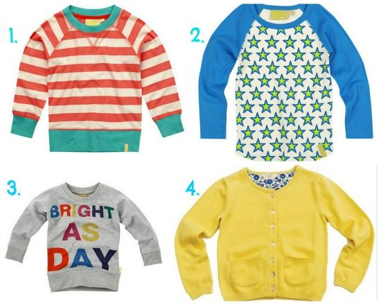 Ethical kids clothing on a budget: http://moralfibres.co.uk/ethical-kids-clothing-sale-roundup/