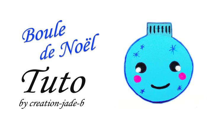 Tuto Feuilles en Mousse - Boule de Noël Kawaii !