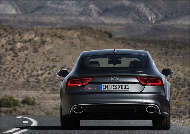 With the Audi RS7, you shall never go astray. #Audi #RS7