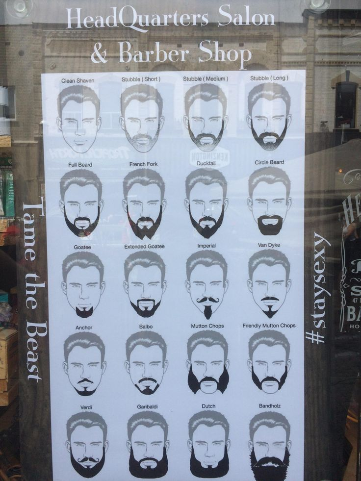 My local barber shop uses Channing Tatum for their beard illustrations