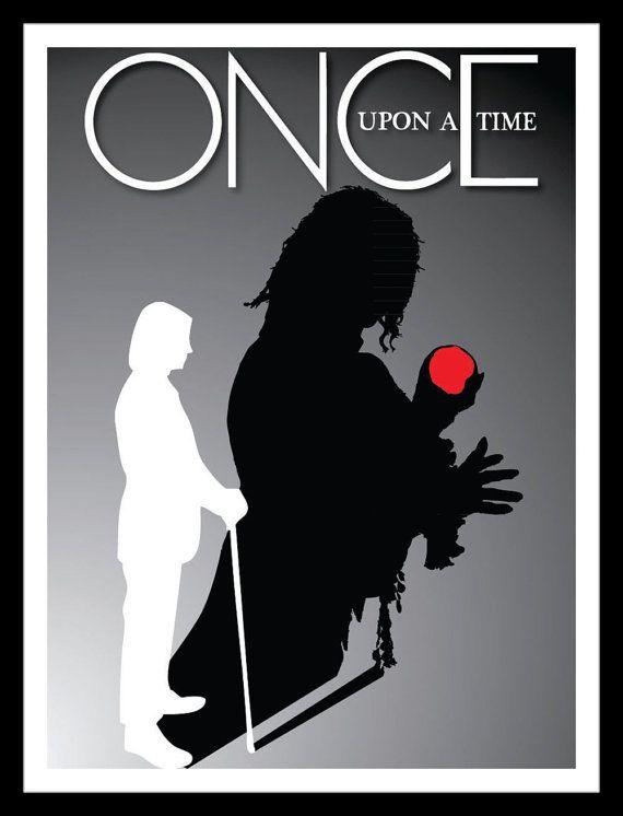 Rumpelstiltskin / Mr Gold - Once Upon a Time (OUAT) Inspired - Movie Art Poster