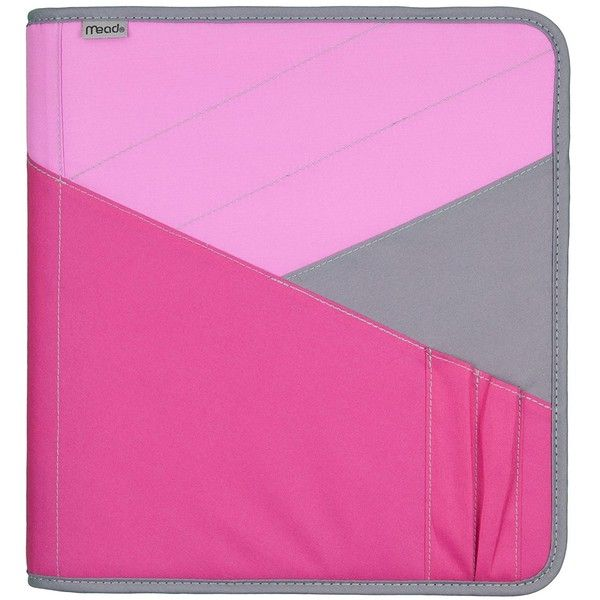 Mead Zipper Binder With Expanding File, 3 Ring Binder, 1.5