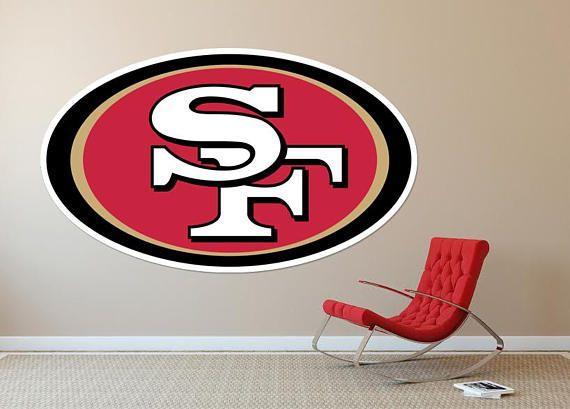 San Francisco SF 49ers Football Team Usa Major League Wall