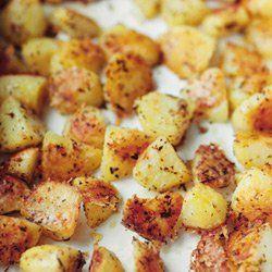 Ziemniaki z pieca w parmezanowej panierce