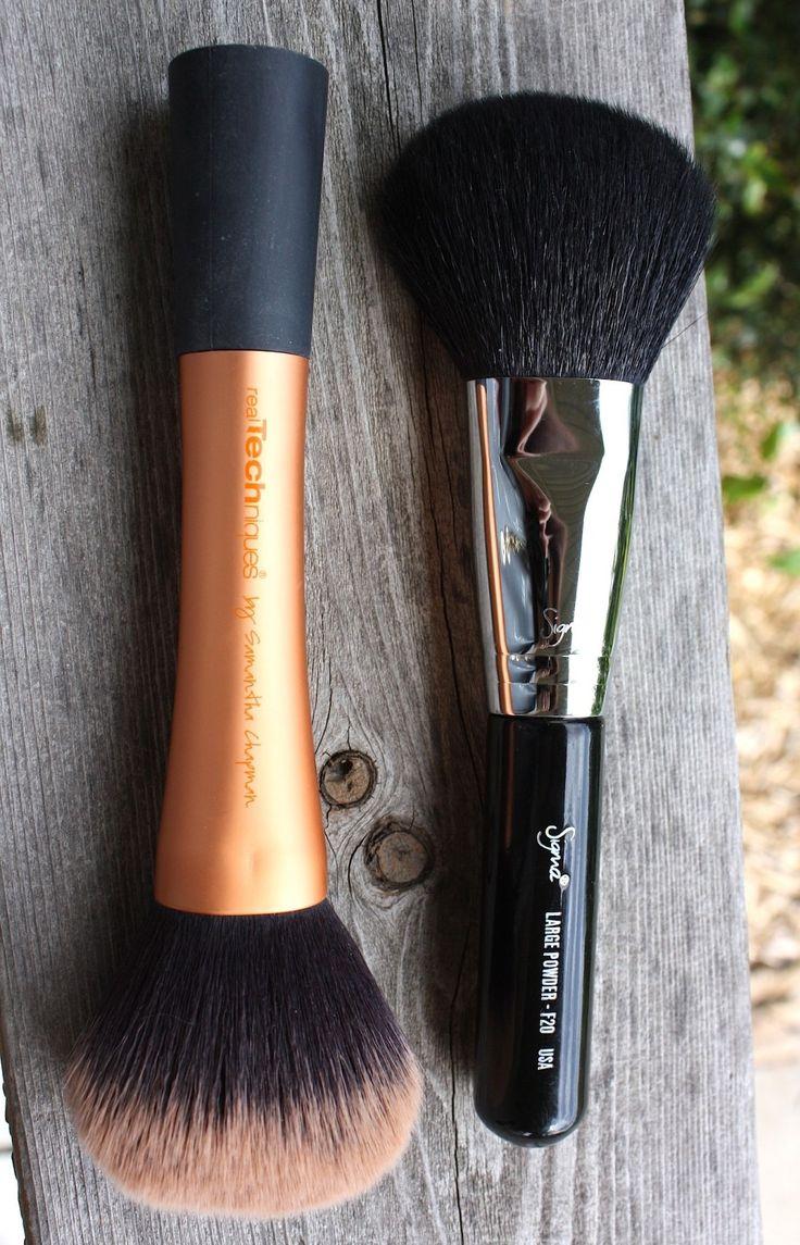 ¡Los pinceles de las técnicas verdaderas son grandes dupes del maquillaje para los cepillos de Sigma!