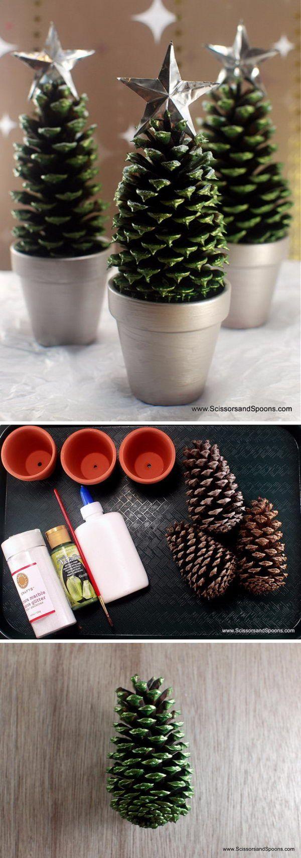 groß 22+ Fantastische DIY Weihnachtsdekoration Ideen und Tutorials auf Budget zu Hause