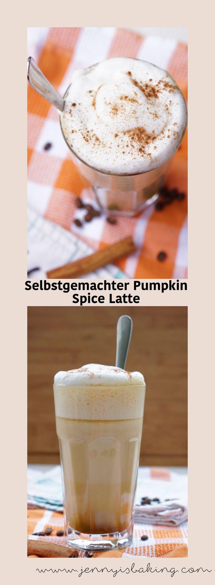 Selbstgemachter Pumpkin Spice Latte, viel besser als bei Starbucks! #pumpkinspice #latte #kürbis