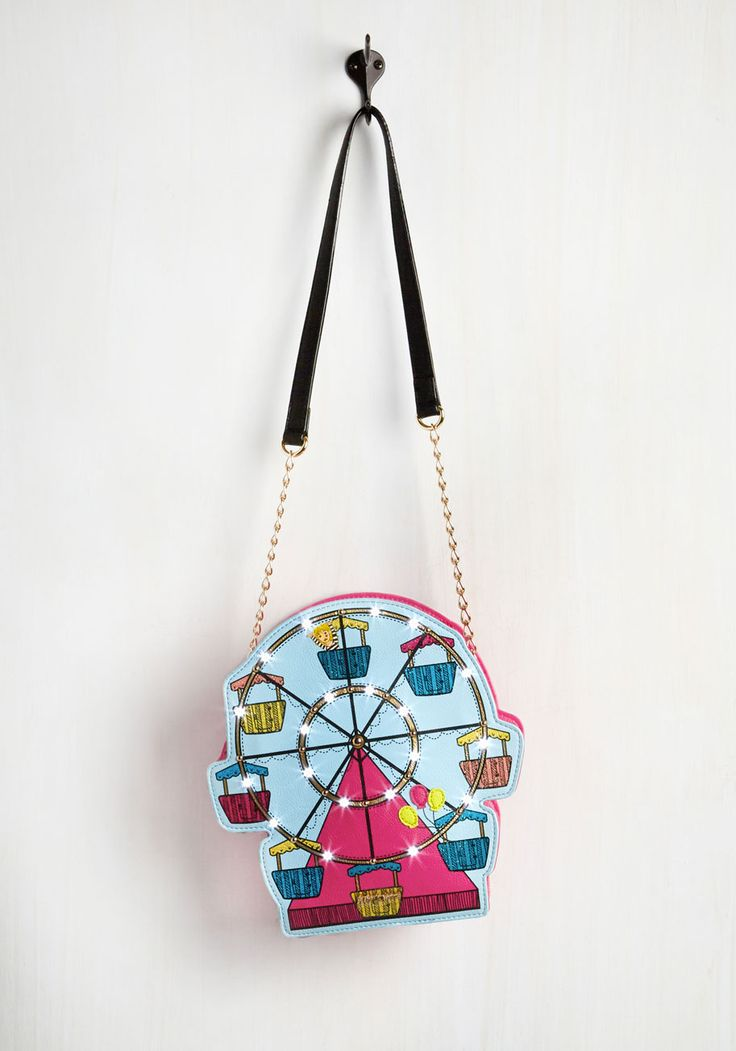 Wide-Ride With Excitement Bag. This Betsey Johnson bag puts so much pep in your step, you might as well be airborne! #multi #modcloth