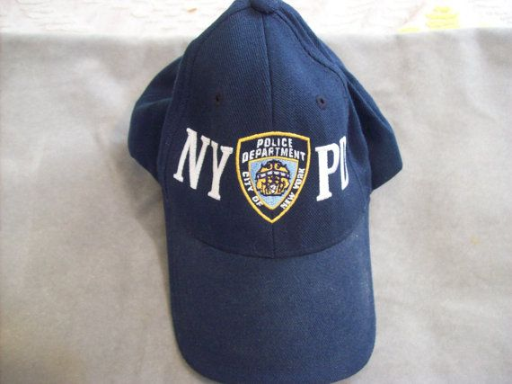 NYPD New York Police Department Official Hat Cap With by howpro, $14.99