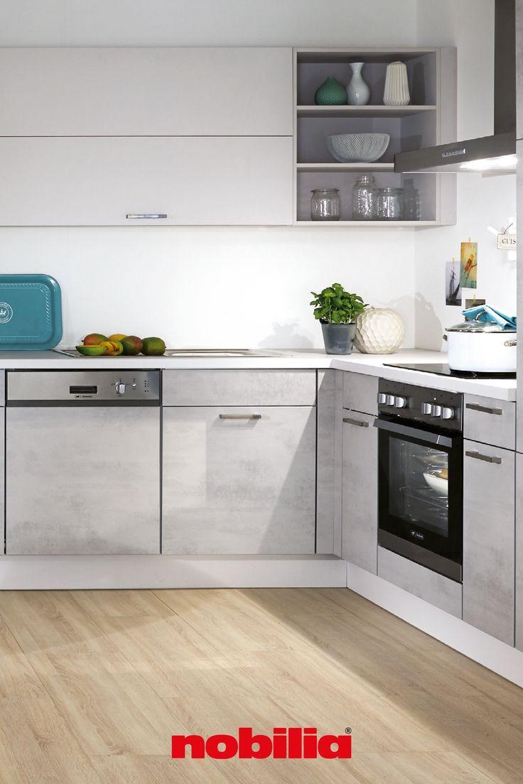 Riva 892 Beton Grau Nachbildung Designkuchen Line N Grifflos In 2020 Kuchen Design Moderne Kuche Kuche