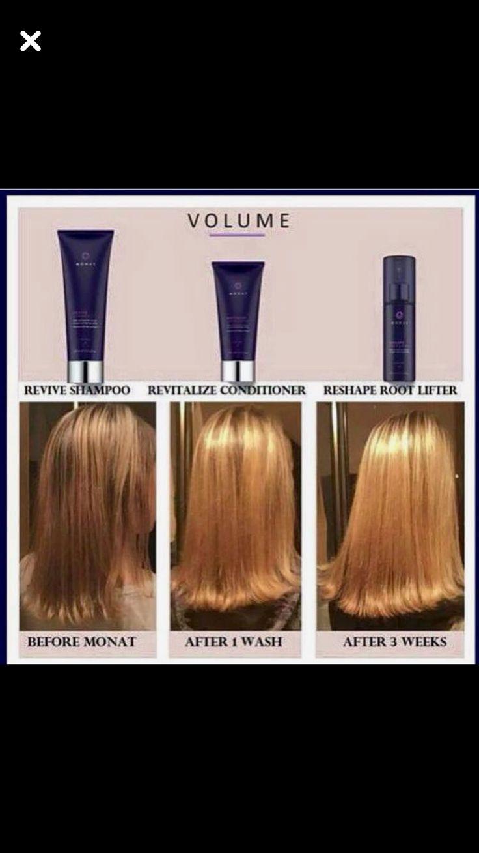 Monat Volume system Monat hair