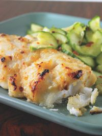 Miso Cod with Spicy Cucumbers - Healthy Recipe Finder | Prevention