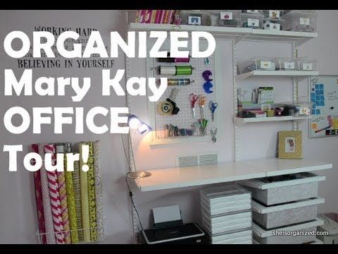 GREAT IDEAS! How to Organize your Mary Kay Office! As a #Mary Kay #beauty consultant I can help you, please let me know what you would like or need. www.marykay.com/... www.facebook.com/...