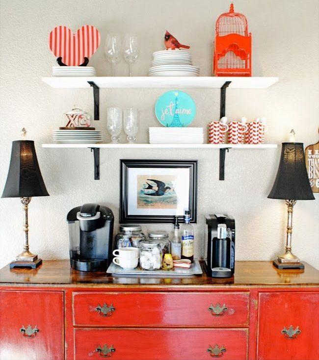 35 coins-café pour la maison   LC Living ice set up for a party
