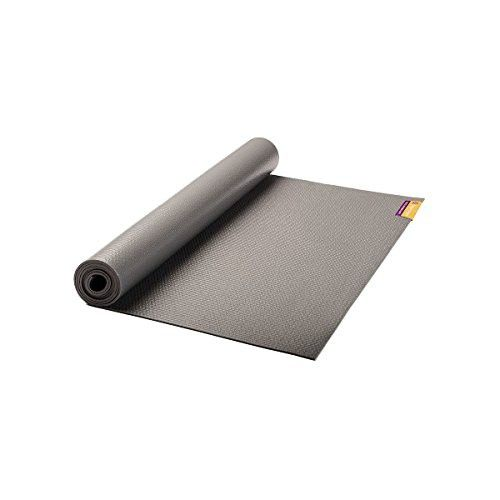 "Hugger Mugger Tapas Original Yoga Mat, Gray, 74"""