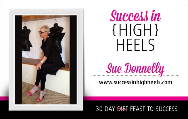 30 Women from Around the World  +  A Powerful Message from Each One  +  A Desire to Impact Lives All Over the Globe  =  'Success in (High) Heels – 30 Day Diet Feast to Success!'