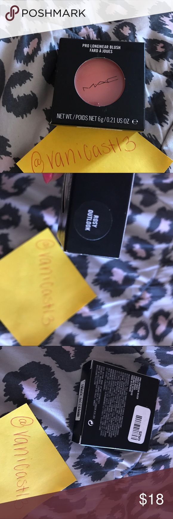 Authentic MAC COSMETICS BLUSH Brand new. Never swatched. Price is firm unless bundled MAC Cosmetics Makeup Blush