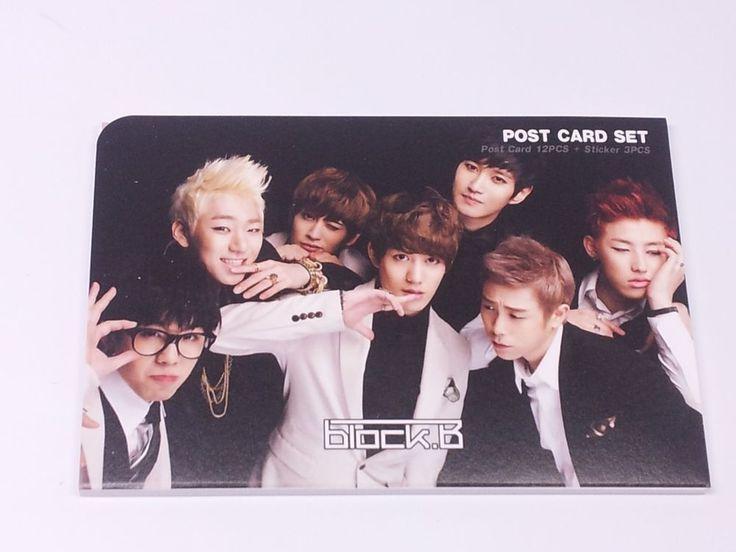 Korean pop star post card 32 pinterest block b blockb postcard set sticker kpop korea post card k pop korean k voltagebd Gallery