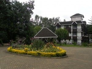 Our hotel in the coffe plantation before the climb begins