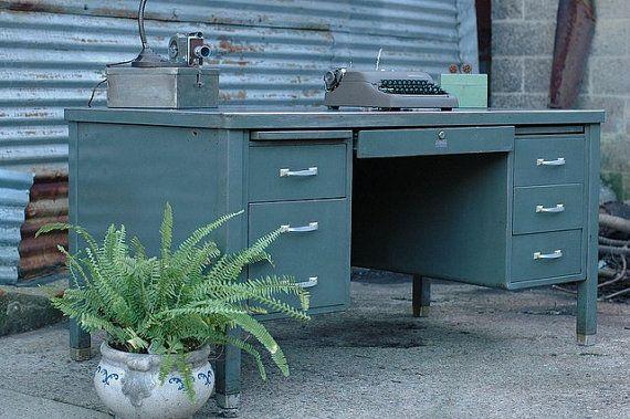25 Best Ideas About Tanker Desk On Pinterest Metal Desk