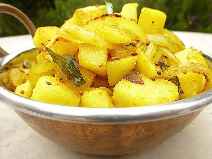 Dry Sri Lankan Potato Curry A fantastic accompaniment for a curry feast!