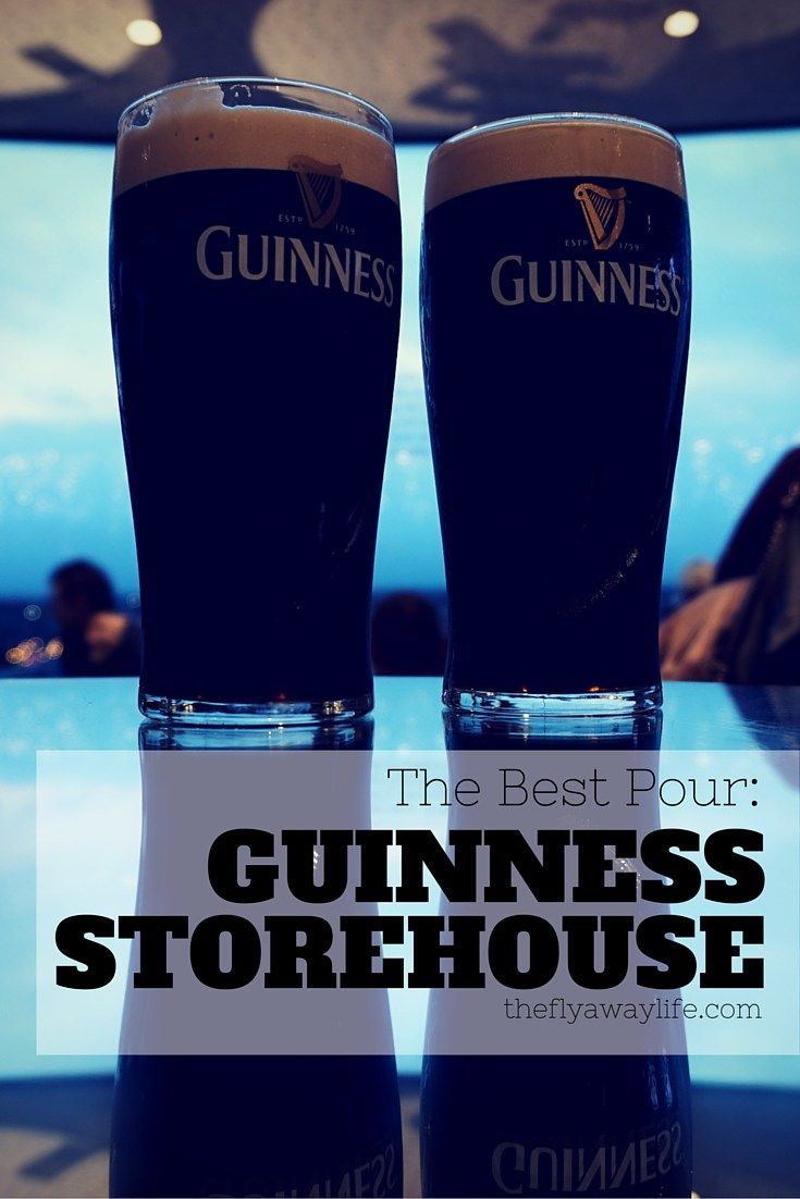 The Guinness Storehouse is a must-see attraction in Dublin! This post gives you the highlights and tells you how to experience it for yourself!