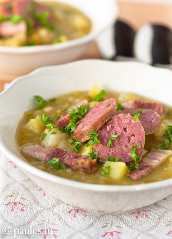 Oktoberfest - Erbseneintopf nach Großmutters Art (a hearty German carnivore stew)
