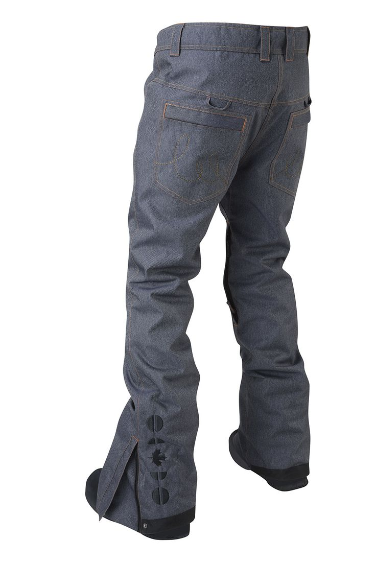 Appledale Pant - Indigo Denim (Back)