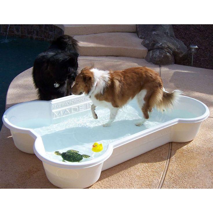 Dog Pool from One Dog Bone - Photo