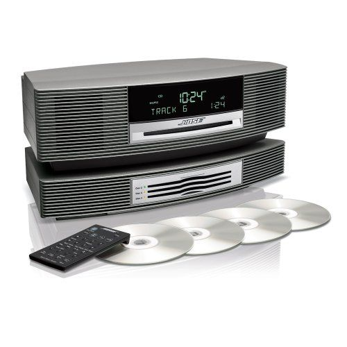 bose wave music system with multi cd changer titanium silver products i love. Black Bedroom Furniture Sets. Home Design Ideas