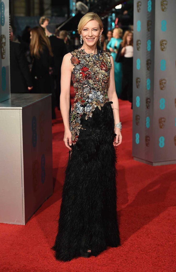 Cate Blanchett in Alexander McQueen. Photo: Ian Gavan/Getty Images.