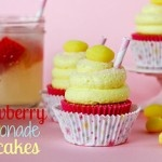 Strawberry Lemonade Cupcakes by the Cookbook Queen (confessions of a cookbook queen blog). OMG these sound awesome, even if they start with a mix and jello.