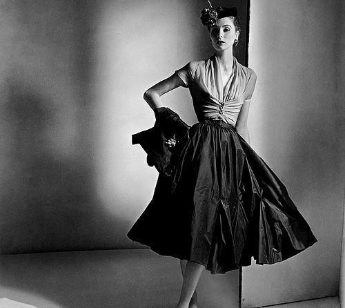 Vintage Dior. Love the lighting.
